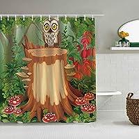 シャワーカーテン黒人歴史月間防水バスカーテンフックに含まれるdBathroom装飾的なアイデアポリエステル生地アクセサリー