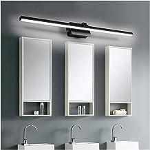 De nieuwe Eenvoudige Zwarte 40/50/60/70 / 80cm Mirror Front Light lange strook Energy Saving Milieubescherming Badkamer Wa...