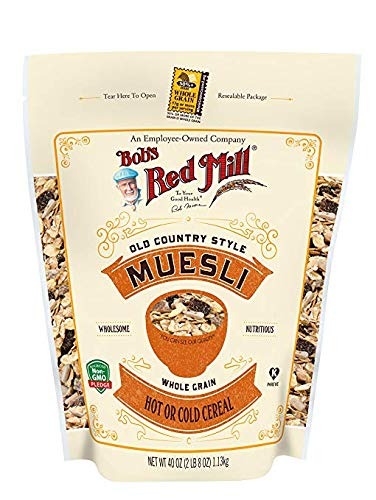 Bob's Red Mill Old Country Style Muesli, Stand up Pouch, 40 Ounce (Pack of 1)