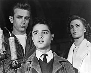 Rebel Without a Cause Featuring James Dean, Sal Mineo, Natalie Wood 8x10 Promotional Photograph