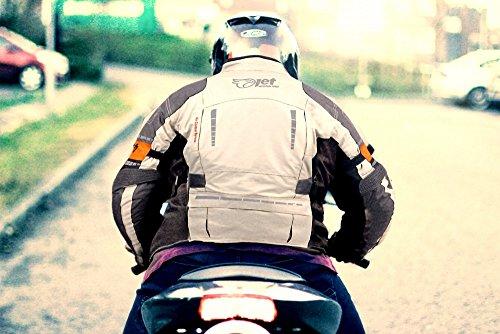 Motorradjacke Textil Wasserdicht Winddicht Mit Protektoren - 5