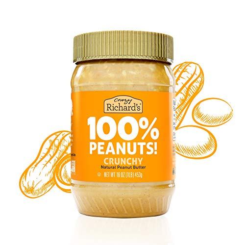 Crazy Richard's All Natural Creamy Peanut Butter