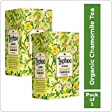 Typhoo Calming Organic Chamomile Tea with Pure Chamomile (Pack of 2)