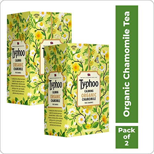 Typhoo Calming Organic Chamomile Tea with Pure Chamomile...