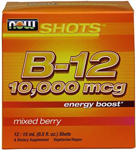 Now Foods La vitamina B-12 Shots, 10.000mcg - 12 x 15 ml. 250 g