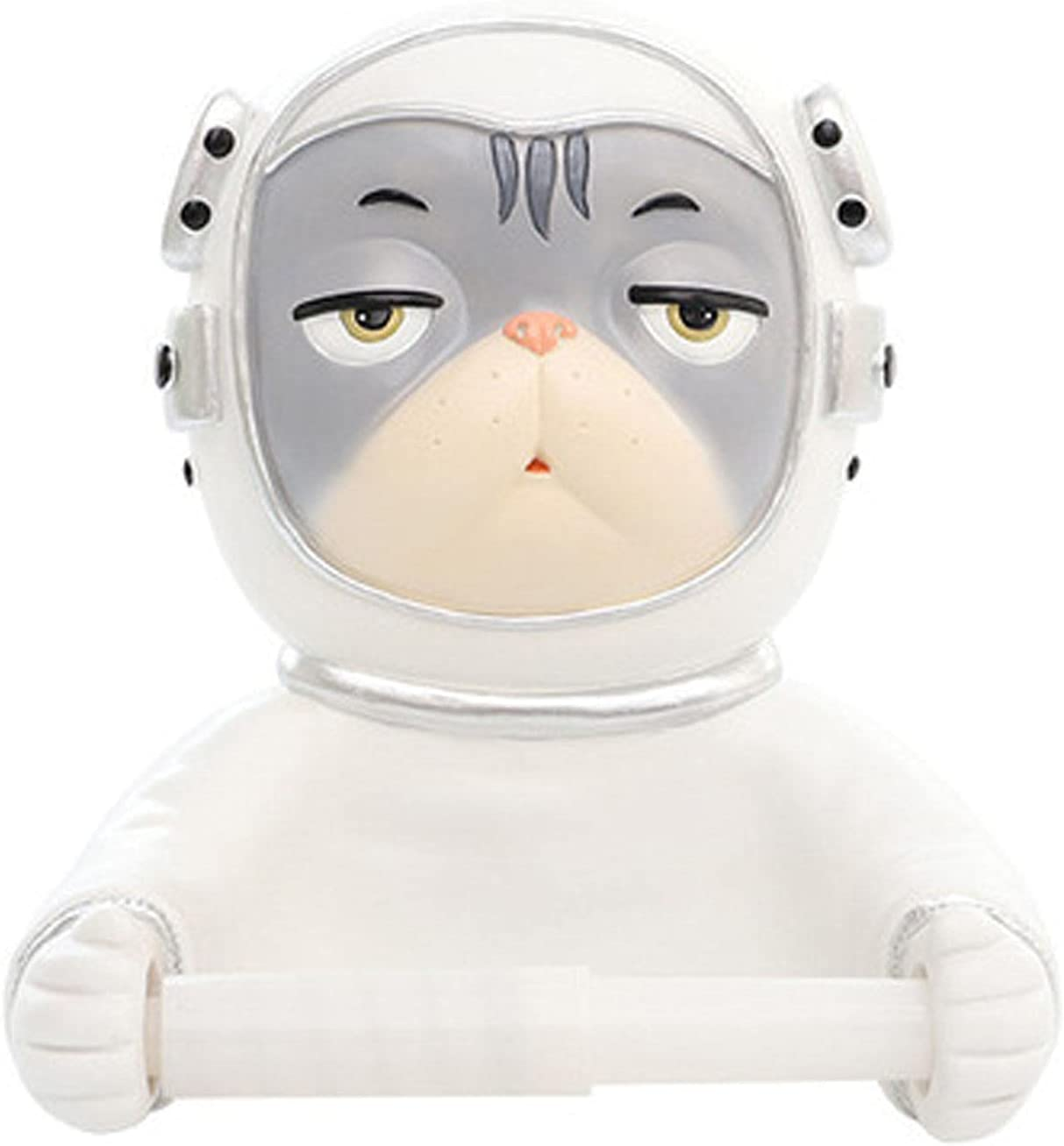 Cheng-store Newest Astronaut Cat Toilet 67% OFF of fixed price Roll Paper NEW Punch-Fre Box