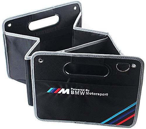 interestingcar Kofferraum Organizer Faltbare tragbare wasserdichte Mehrzweck Aufbewahrungsbox für BMW M Sport x1x3x5x6 3er 5er 7er (fit BMW)