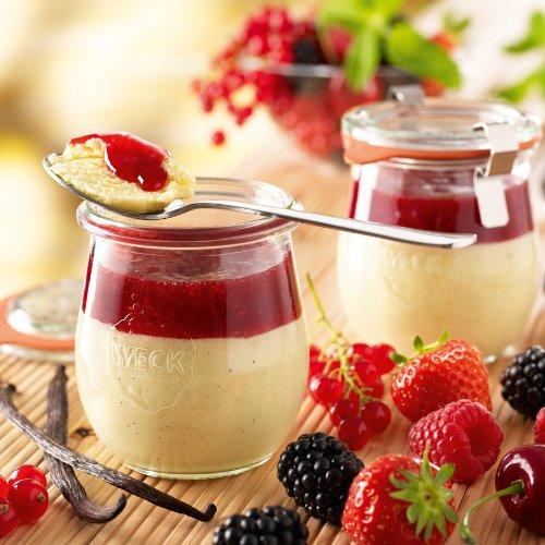 Besser Beerentraum auf Vanille Eiskrem; 700 ml, 4 Stück
