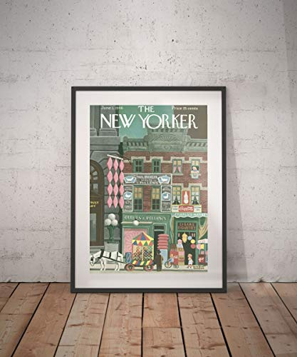 Rac76yd The New yorker New Yorker magazine New Yorker poster