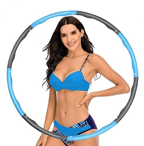 YZQ Hula ROOVABLE Hula, Peso De Espuma Suave Ajustable, Ancho 48-95 Cm, Peso Hula Hoop, Adecuado para Perder Peso Y Fitness