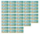 Adress-Etiketten - Adress-Aufkleber Sticker Namensaufkleber mit Ihrem Wunschtext 57x 23mm, für 1 bis 5 Zeilen Text - 45 Stück – 45 Hintergründe zur Auswahl (40 Kängurus Kangaroo)