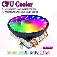 4 Heatpipes CPU Cooler 4pin PWM LED 120mm Cooling Fan Radiator Heatsink for Intel LGA 1150/1151/1155/1156 for AMD AM3+ AM3 AM2 +