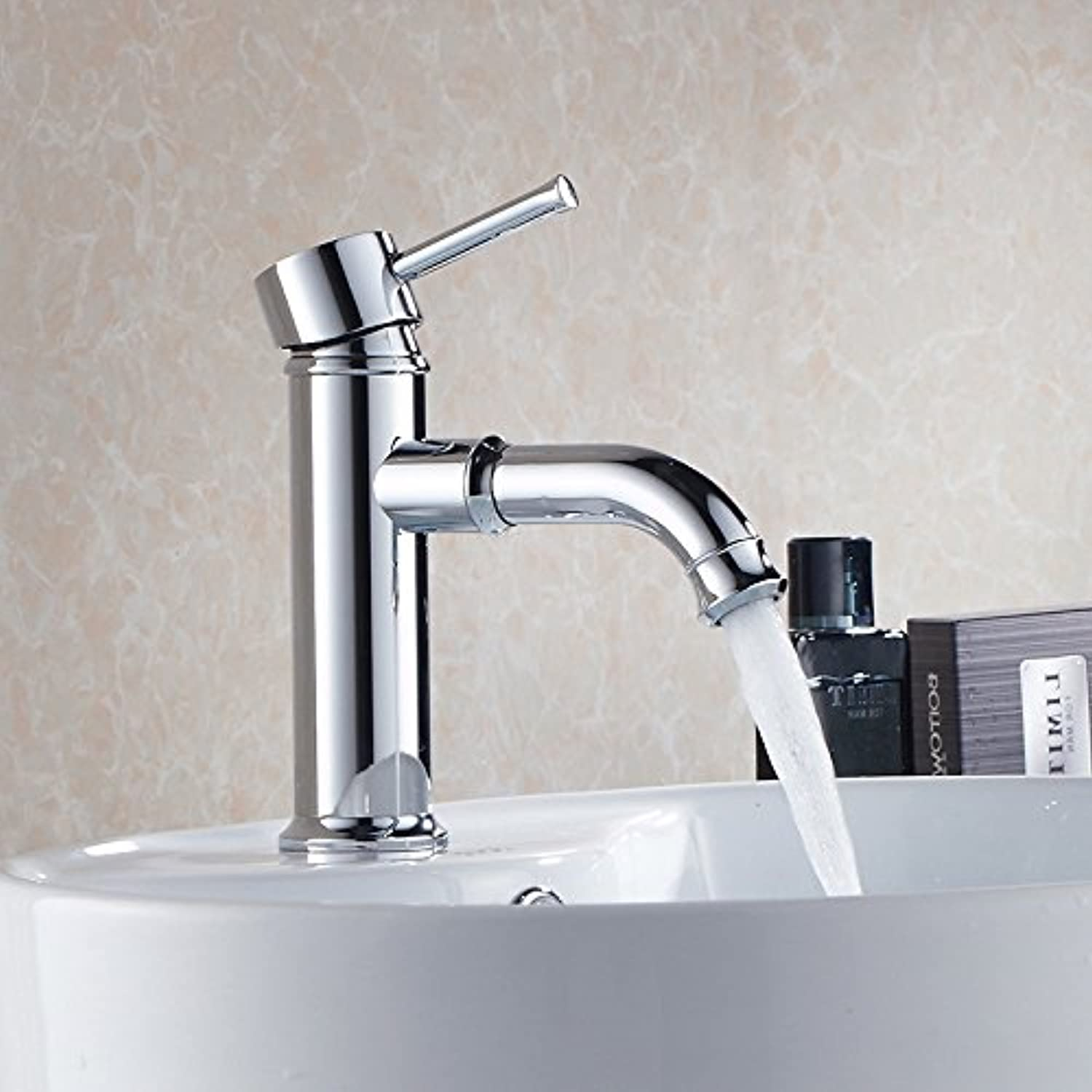 Retro Deluxe Fauceting Modern Style Free Shipping Basin Faucet Cold and Hot Water Mixer Single Handle  MD1A9013A,Brass,MD1A901A4
