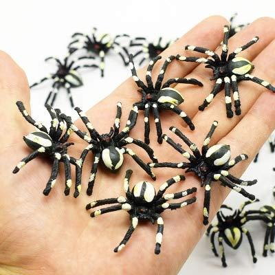 CGDX 10 stücke Streich Lebensechte Spinne Tausendfüßler Skorpion Simulation Gefälschte Kakerlake Lustige Trick Spielzeug für Halloween Party House Decor 4,5 cm * 4,5 cm 1