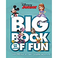 Disney Junior Big Book of Fun: Over 200 Pages of Stories, Colouring and Activities, with Over 50 Stickers