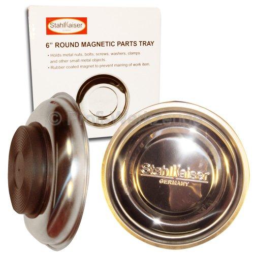 4 Stück Magnetschale INOX Ø 150 mm Haftschale für Schrauben-Schale Muttern