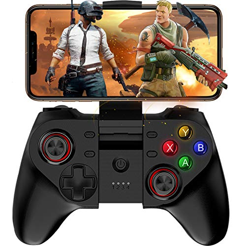 Mobile Game Controller, Megadream Wireless Key Mapping Gamepad Joystick Perfect for PUBG & COD, Compatible for iOS Android iPhone iPad Samsung Galaxy Other Phone & Tablet PC – Do Not Support iOS 13.4