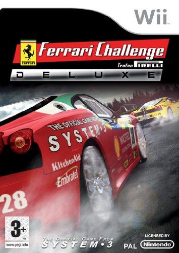 System 3 Ferrari Challenge Deluxe (Wii) - Juego (DEU)