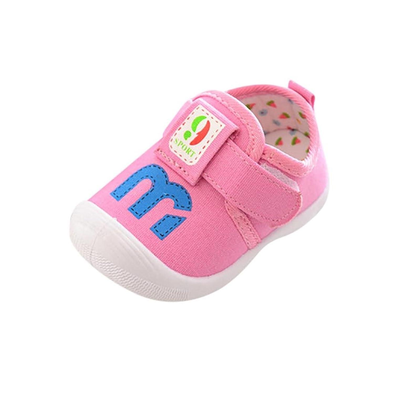 [Kukiwa] ベビー幼児靴 M付き学步靴 声を出す ベビーシューズ 柔らかい 滑め防ぐ 室内履き 出かけ