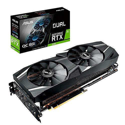 ASUS Dual GeForce RTX 2080 DirectX 12 8GB 256-Bit GDDR6 PCI Express 3.0 HDCP Ready SLI Support Video Card Model DUAL-RTX2080-8G-EVO