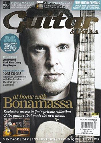 Guitar & Bass (April 2016 - At Home With Bonamassa)