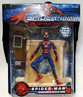 MTV Animated Spider-Man Figure with Mountable Loft Diorama by Spider-Man