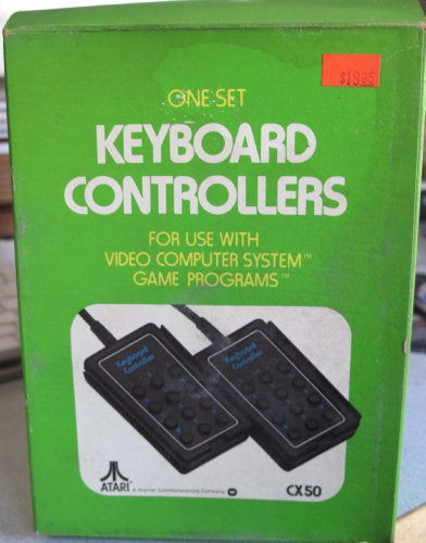 Atari One Set Keyboard Controllers CX50