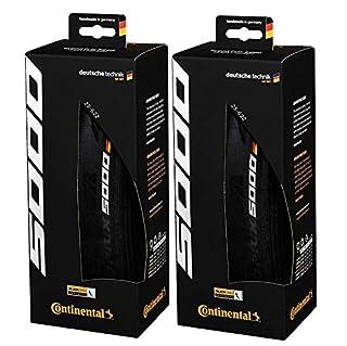 Grand Prix 5000 700 X 25 Black-BW + Black Chili 2-Count