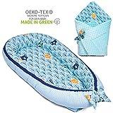 PALULLI - Nido para bebé multifuncional con colchón suave adicional, coco,...