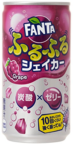 コカ・コーラ ファンタ ふるふるシェイカー グレープ 缶 180ml×30本