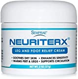 NeuriteRx Leg and Foot Relief Cream, 2oz Jar