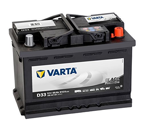 Preisvergleich Produktbild Varta Promotive Black D33 Autobatterie 12V 66Ah 510A