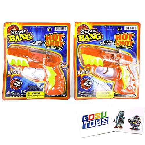 Super Bang Hot Shot Toy Cap Gun Bla…