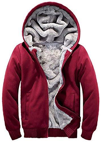 Mujer Sudadera con Capucha Forro Polar Cremallera Completa Abierta Chaqueta Frontal