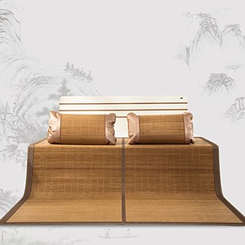 YXWzd Cool Bambusmatte Summer Collapsible W eableitung Pad glatt Cool Matratze EIS Schlafmatte 0.8 0.9 1.0 1.2 1.35 1.5 1.8 2.0m Bett (Größe   1.8m(6feet) Bed)
