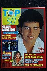 TOP 50 104 1988 GLENN MEIDEROS DAVID HALLYDAY + POSTER GEANT SABRINA VAYA CON DIOS HERBERT LEONARD