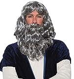 Forum Novelties Biblical Wig & Beard Costume Set Gray