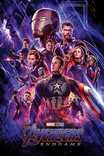 Close Up Póster Marvel Avengers: Endgame - Personajes [One Sheet] (61cm x 91,5cm) + 1 póster Sorpresa de Regalo