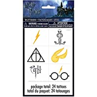 Harry Potter Party Favor Tattoo Sheets [4 sheets per pack]