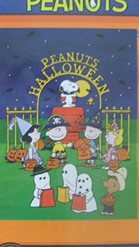 Peanuts Halloween Large Flag Snoopy & The Gang Tricks or Treats!