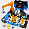 Deejoy Race Tracks Car Adventure Toys, Play Vehicle with Sound and Light, Simulation Steering Wheel, Transforming Bus Toys for 3 4 5 6 7 8 Year Old Kids, Best Gifts for Boys and Girls by Shantou Huaye Electronic Commerce Co. Ltd