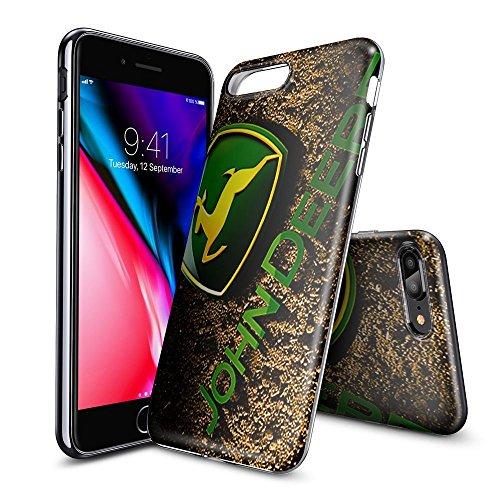 JKFO Hülle für iPhone 7 Plus und iPhone 8 Plus Tasche Schutzhülle Case Cover Bumper und Anti-Scratch Löschen Back Hülle für iPhone 7 Plus/8 Plus (HD Klar LAFJAFJJD00227)