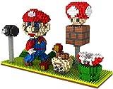 Zenghh 1500pcs Nuovo 3D Pixel blocchi giocattolo Blocchi bella Idraulico Rosso Verde Mario Scene Nano Micro Blocks Diamante DIY gioca Assemblare Set for il capretto e for adulti (più di 7 anni)