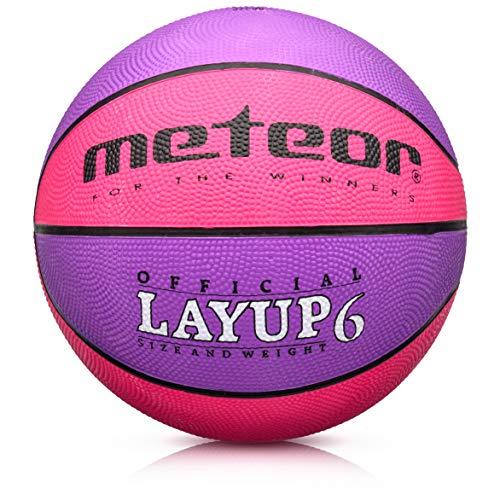 Balón Baloncesto Pelota Basketball Bebe Ball Infantil Niño Adultos Jóvenes Balon Basquet - Baloncesto Ideal para los niños y jouvenes y Adultos para Entrenar y Jugar - Tamaño 5 o 6 o 7