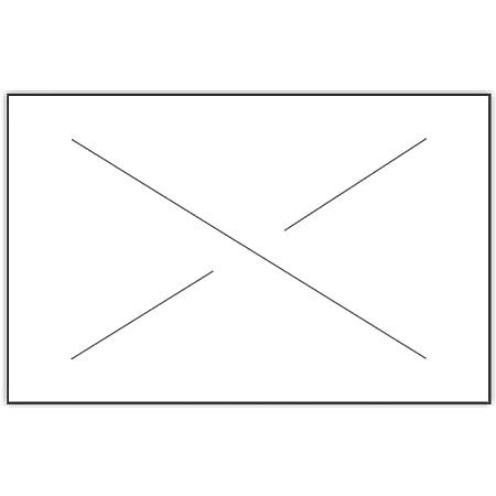 5 Rolls Per Sleeve 3736-10004 Garvey G3736 White Blank Labels
