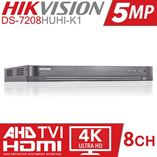 HIKVISION 5MP 8CH TURBO HD DVR 8...