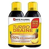 Forté Pharma TurboDraine 2x500ml | Draineur Minceur