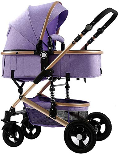 Best Buy! Comfortable and safe Baby carriage Lightweight Folding Shock Absorber Stroller, Multiple S...