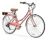 XDS Bikes Women's Nadine 7-Speed Comfort Bike, Pink