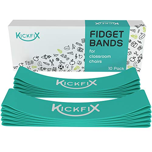 Fidget Chair Bands for Kids - Flexible Seating Classroom Furniture for Kids with Fidgety Feet - Foot Bands for The Desk or Chair for Students with ADHD, Autism, or Sensory Needs
